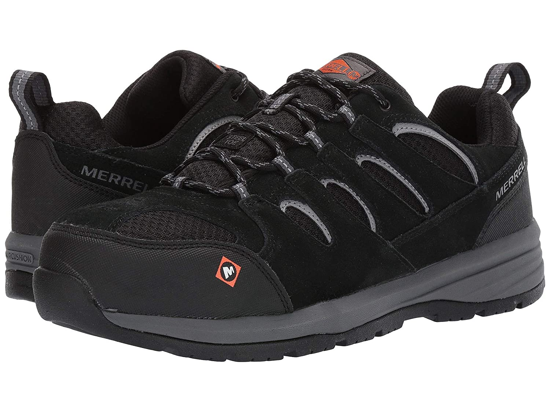 【期間限定特価】 [メレル] メンズランニングシューズスニーカー靴 cm|ブラック [並行輸入品] Windoc Steel Toe [並行輸入品] B07N8F5RJ1 ブラック 25.5 ブラック cm 25.5 cm|ブラック, くれよん本舗:407bb546 --- a0267596.xsph.ru