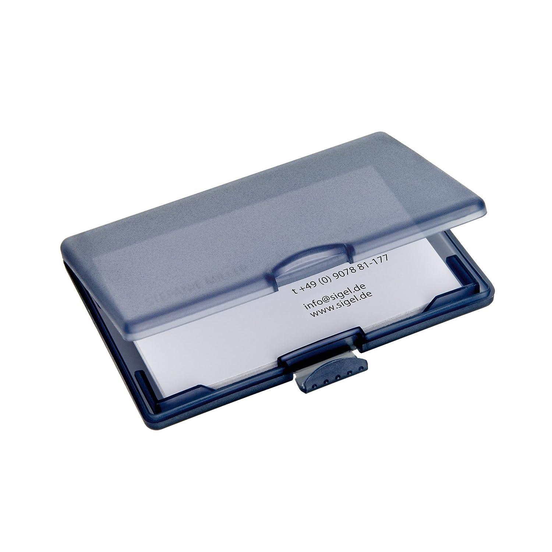 1 pz. Sigel VZ334 Portacard COOLORI con pratica chiusura a clip viola