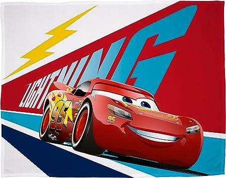 Rouge Couvertue Polaire Cars Disney Plaid Polaire 100 x 150