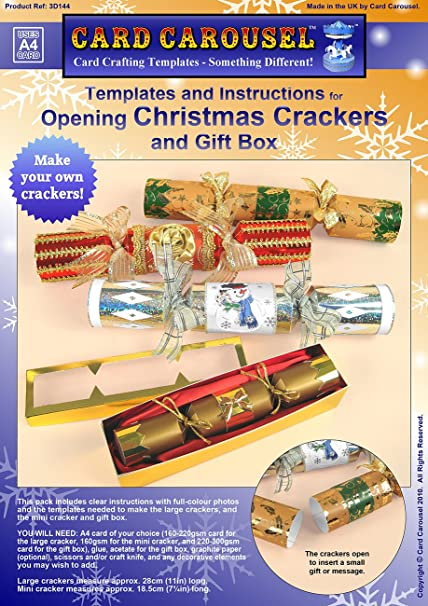 Card making templates for christmas crackers amazon kitchen card making templates for christmas crackers solutioingenieria Image collections