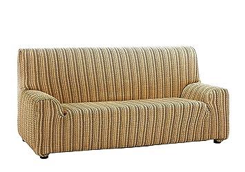 Martina Home Mejico - Funda de sofá elástica , Doré, 4 Plazas
