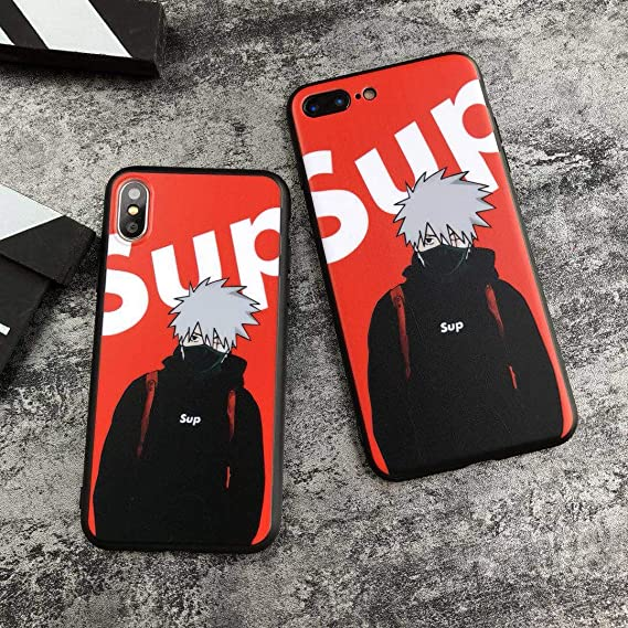 d79b4c4d29e Amazon.com  SUP Kakashi Softshell Silicone Case for iPhone 6 6 Plus ...