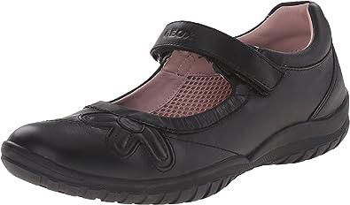 Scarpe stringate per ragazza, colore Nero , marca GEOX