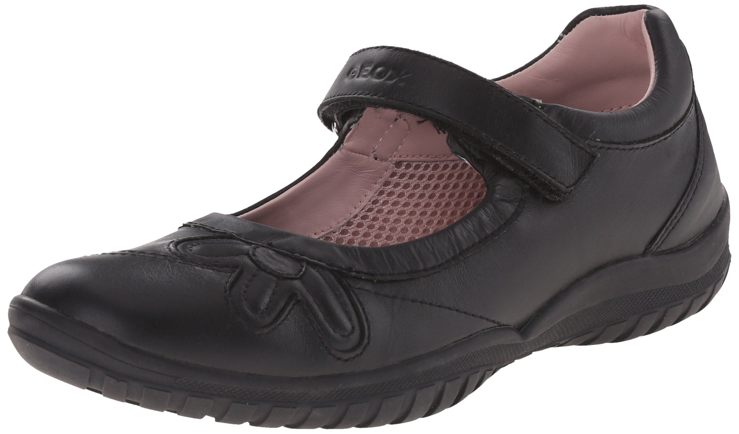Geox CSHADOW42 Ballerina Flat (Little kid/Big Kid),Black,39 EU/6 M US BigKid