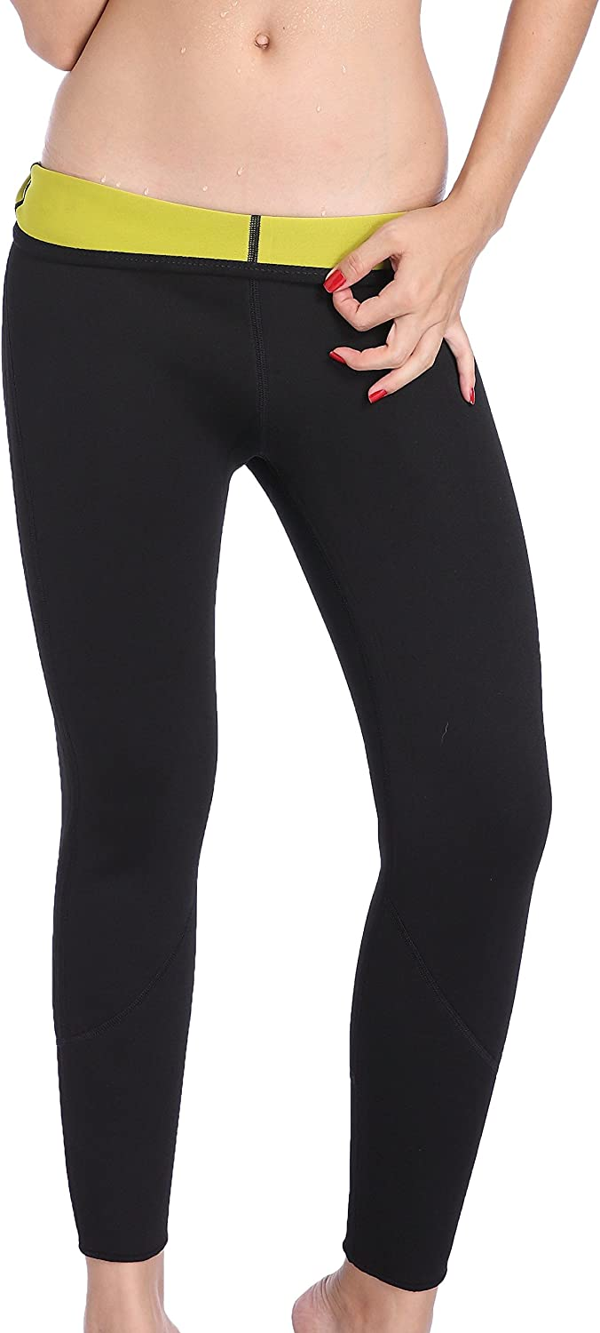 Valentina Long Slimming Pants Weight Loss Hot Thermo Sweat Sauna Neoprene Workout Body Shapers