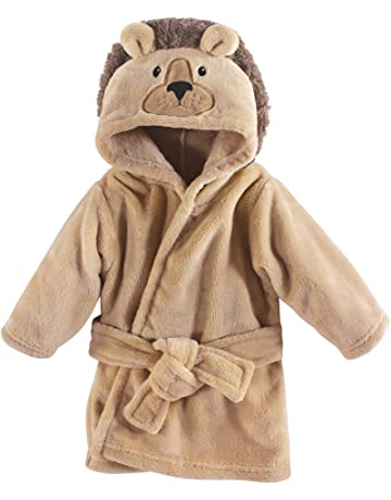 9f3020a84 Hudson Baby Unisex Baby Plush Animal Face Robe, Lion, One Size