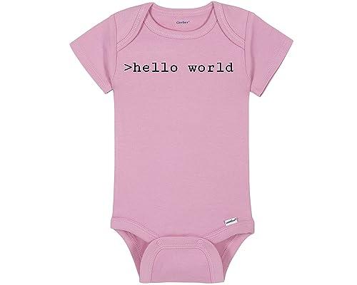 Onesie Hello World