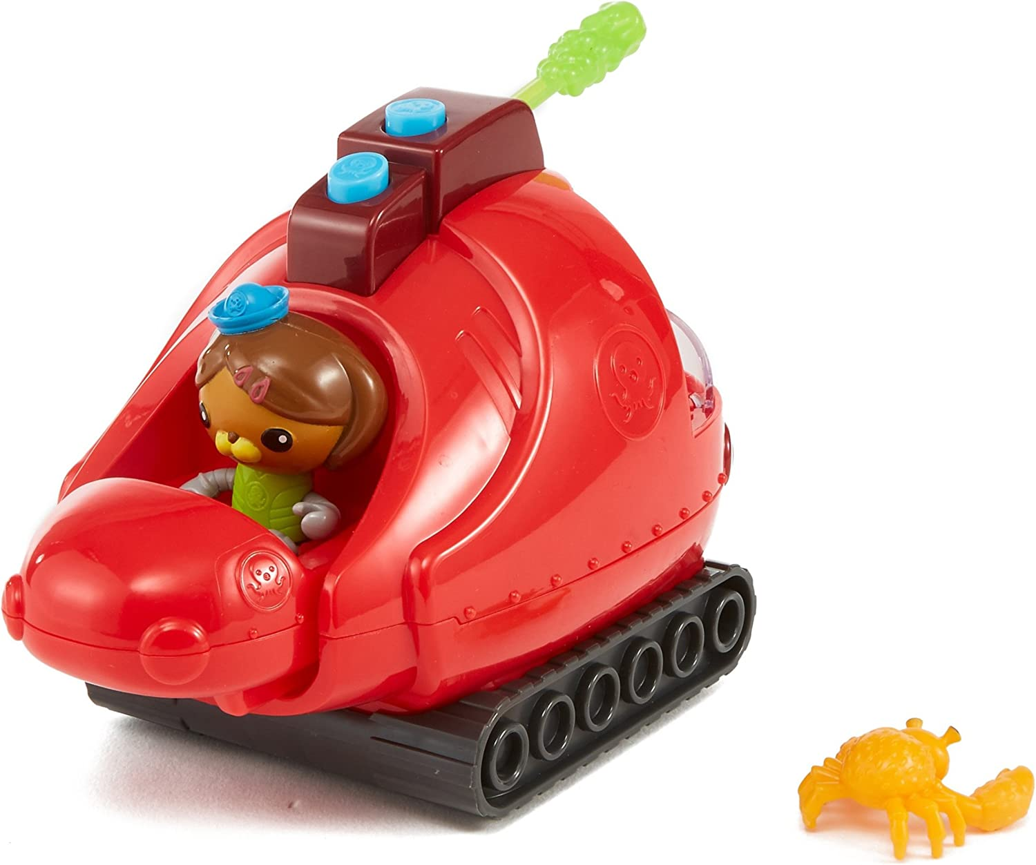 Fisher-Price Octonauts Gup-X /& Dashi Vehicle /& Figure Playset