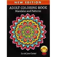 Adult Coloring Book: Mandalas and Patterns: 4