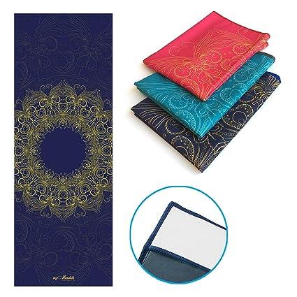 mymandala – antideslizante toalla de Yoga 24