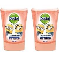 Dettol - No Touch Recharge Pour Distributeur Automatique de Savon Classique - 250 ml - lot de 2