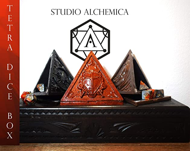 Admirable Tetra Dice Box Three Colors 3D Printed Amazon Com Home Remodeling Inspirations Genioncuboardxyz