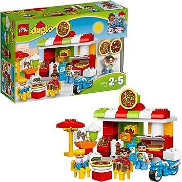 greedy Them Miles  LEGO Duplo - Town la Pizzeria, 10834: LEGO: Amazon.it: Giochi e giocattoli