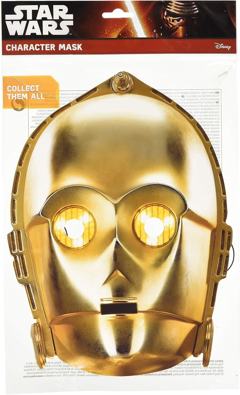 Mask-erade C-3PO Facemask � Costume Accessory
