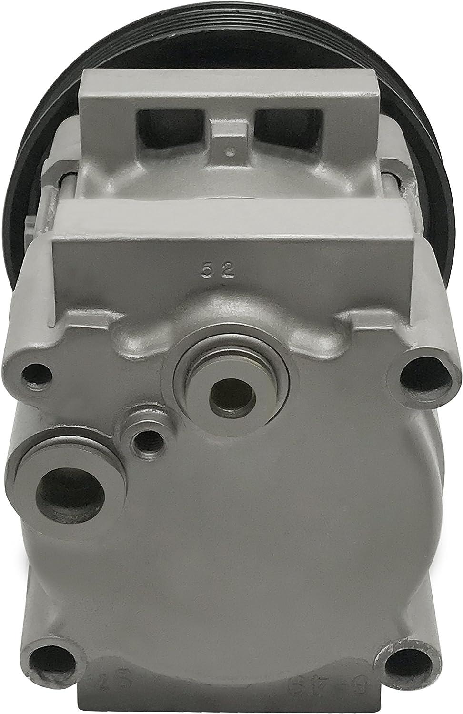 RYC Remanufactured AC Compressor and A//C Clutch EG163