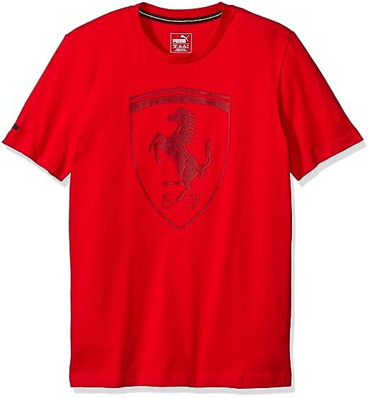 Puma Shirt Ferrari big Shield  Amazon.fr  Vêtements et accessoires b3bf9a866bcb