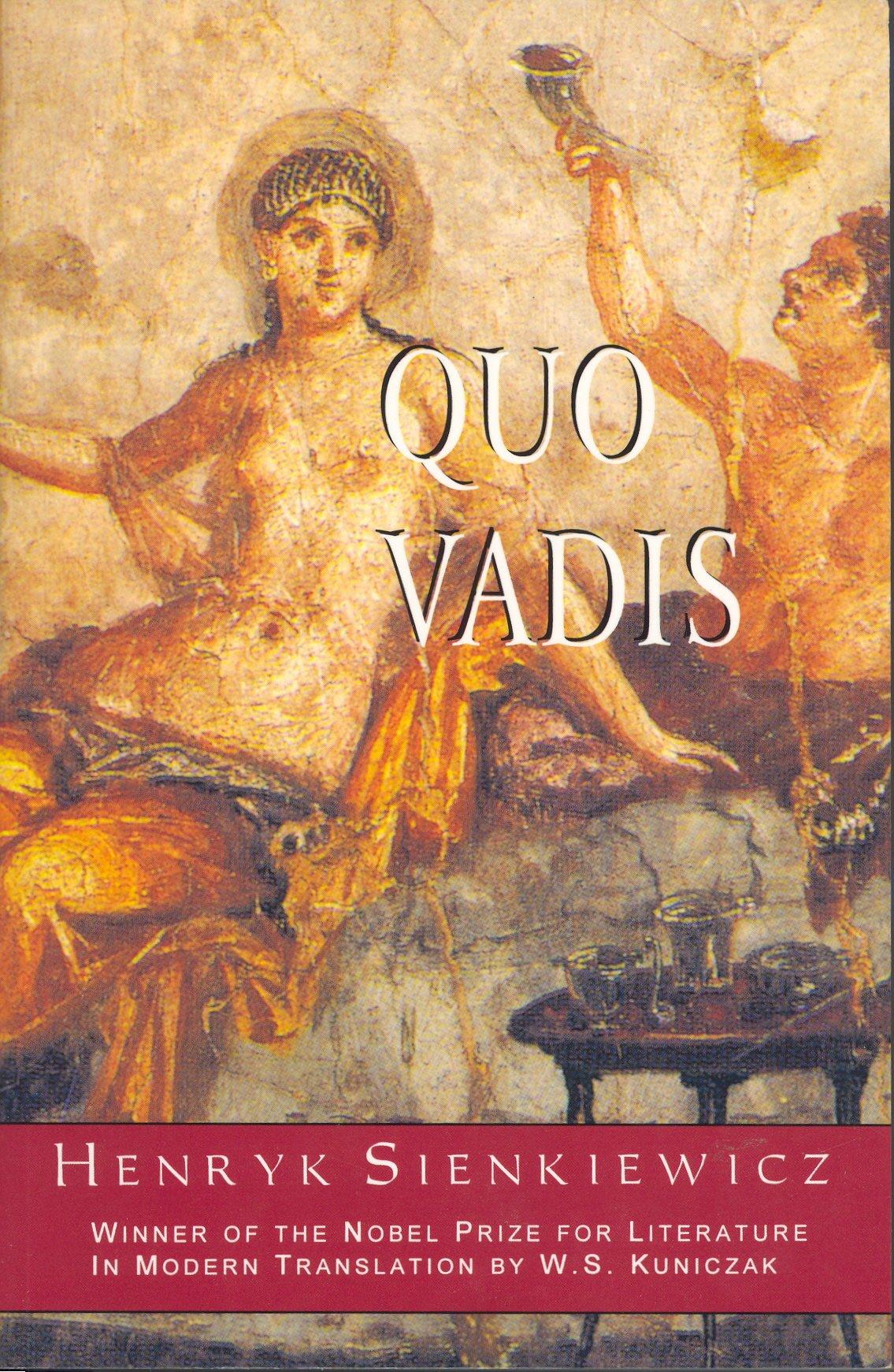 Quo Vadis?: Amazon.co.uk: Sienkiewicz, Henryk, Kuniczak, W.S.:  9780781805506: Books