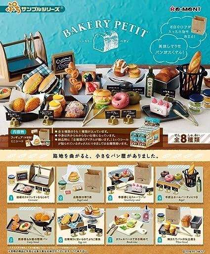 Re-ment Miniature Bakery Petit Full Set 8 pieces BOX