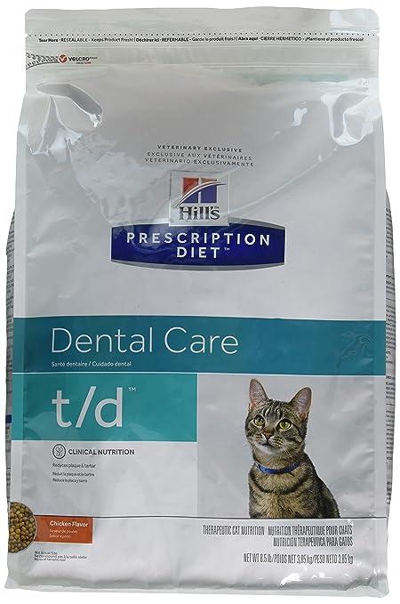 Amazon.com : Hills T/D Dental Health Cat Food 8.5 lb : Dry Pet Food : Pet Supplies