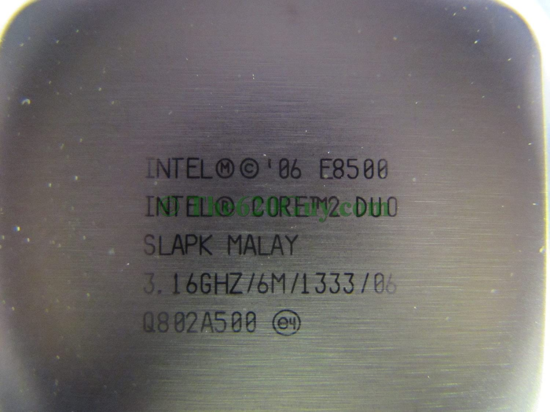 Intel Core 2 Duo E8500 316ghz 6m 1333 Mhz Slapk Socket Prosesor 775 Cpu Processor Paste Computers Accessories