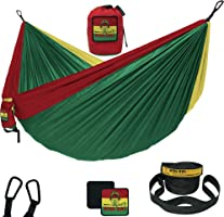 Wise Owl Outfitters Hammock Camping Double & Single with Tree Straps - USA Based Hammocks Brand Gear, Indoor Outdoor...