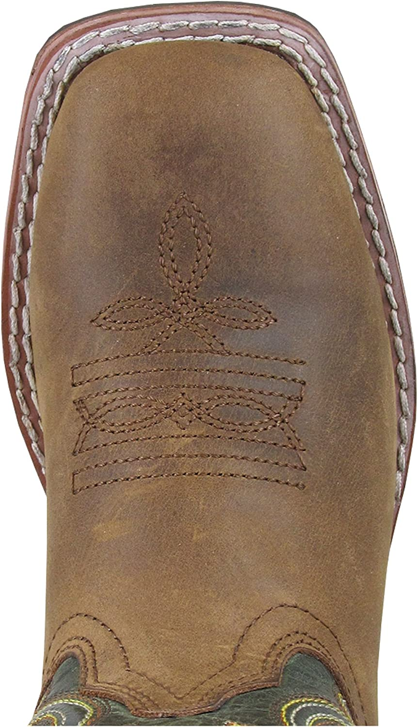 Smoky Mountain Boys Green Jesse Western Boot Square Toe 3667Y