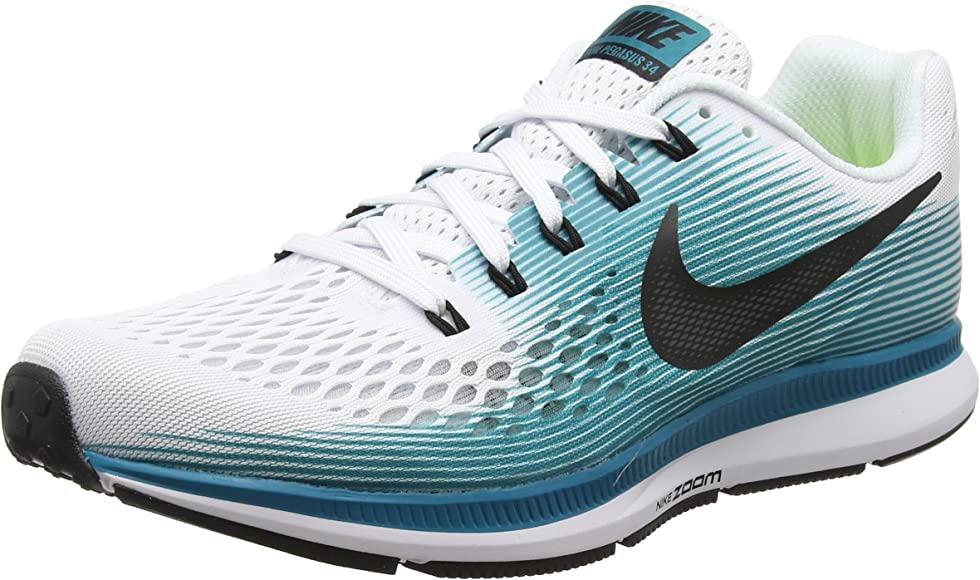 Nike Air Zoom Pegasus 34 - Zapatillas de running para hombre, Azul, 9.5