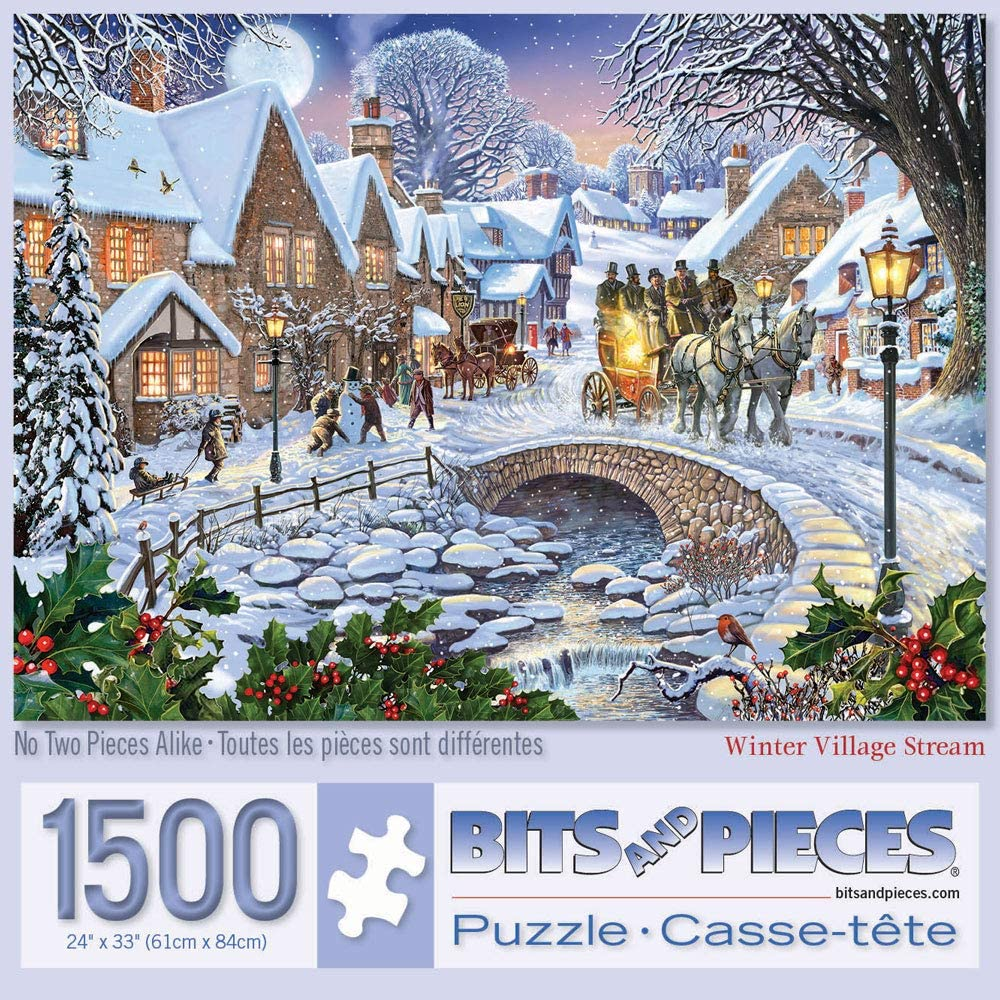 Bits and Pieces - 1500 Piece Jigsaw Puzzle for Adults 24