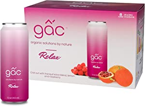 GacLife Gac Superfruit Drink, Relax, 12 Oz (8-Pack)