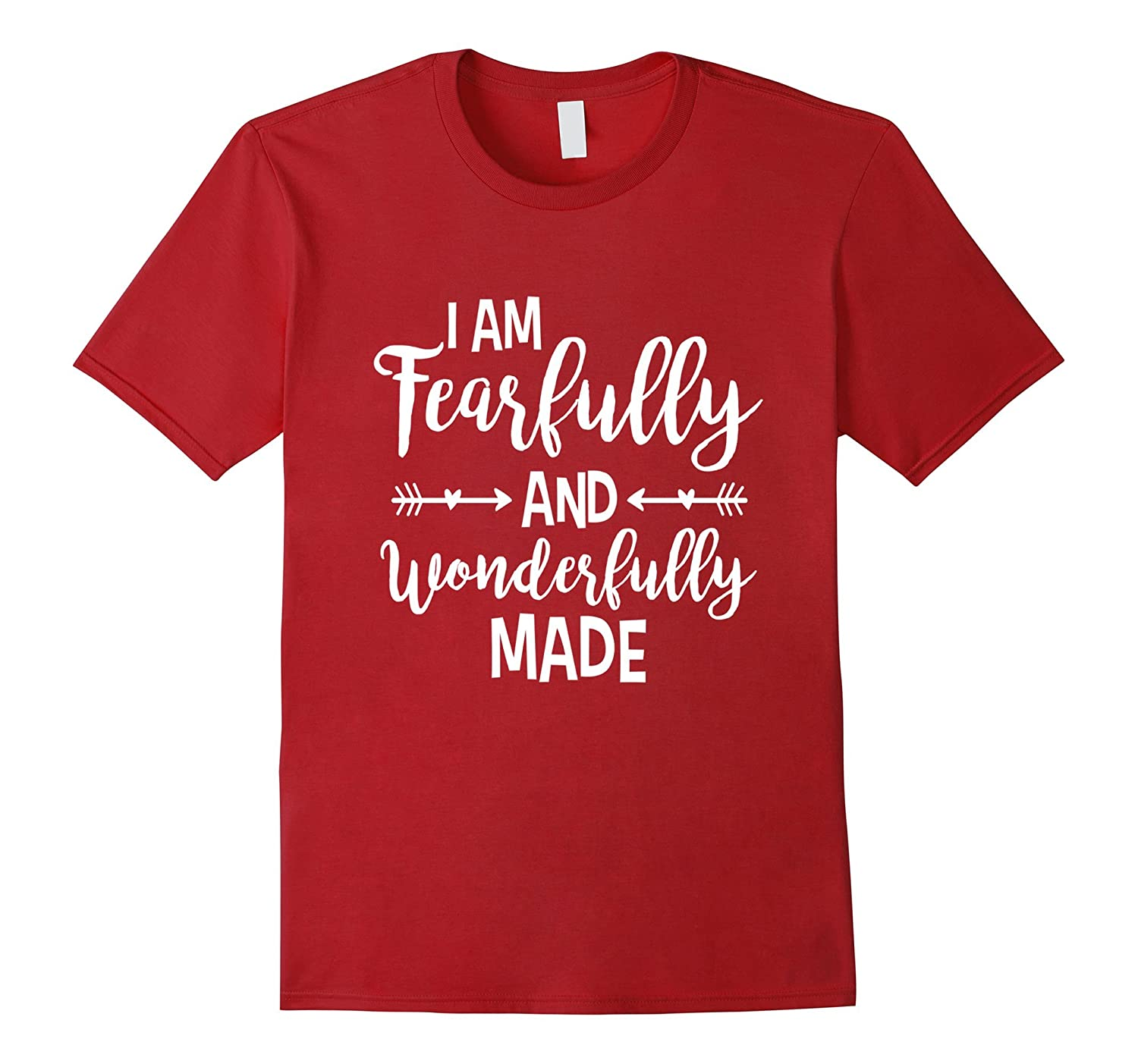 Women's Mother Fearfully and wonderfully made White T-Shirt-TH