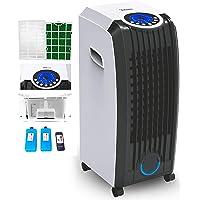 Zilan 3-in-1 airconditioner, luchtreiniger en ventilator, mobiel, 8 liter, met afstandsbediening, 3 standen, staand…
