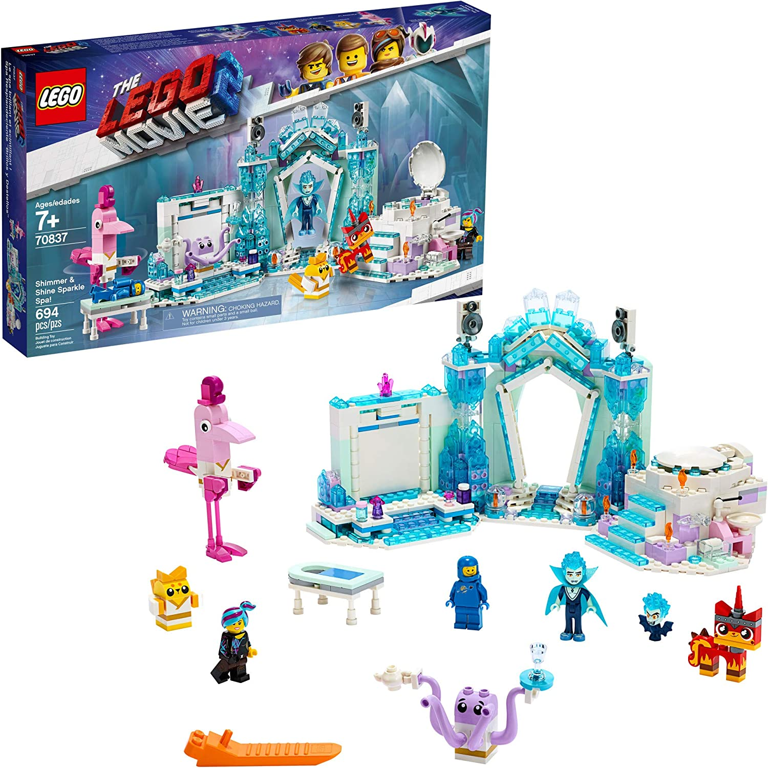 LEGO THE LEGO MOVIE 2 Shimmer & Shine Sparkle Spa; 70837 Building Kit (694 Pieces)