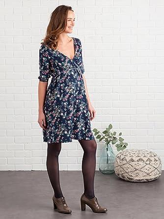 faire les courses pour grand choix de 2019 convient aux hommes/femmes Vertbaudet Robe Grossesse et Allaitement croisée imprimée ...