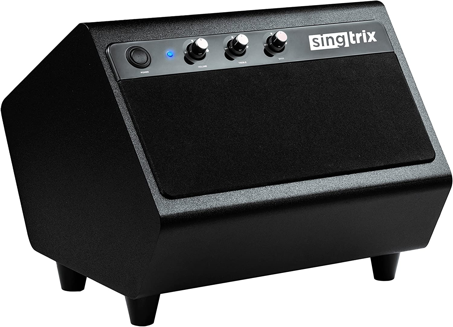 Singtrix Smart Karaoke System Additional Features 40 Watt Speaker with Pro Stereo Sound, Powerful Built-in Subwoofer, and Customizable Controls (SGTXSPK1)