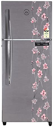 Godrej 241 L 3 Star Frost Free Double Door Refrigerator(RT EON 241 P 3.4, Silver Meadow)