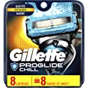 8-Count Gillette Fusion ProShield Chill Men's Razor Blade Refills