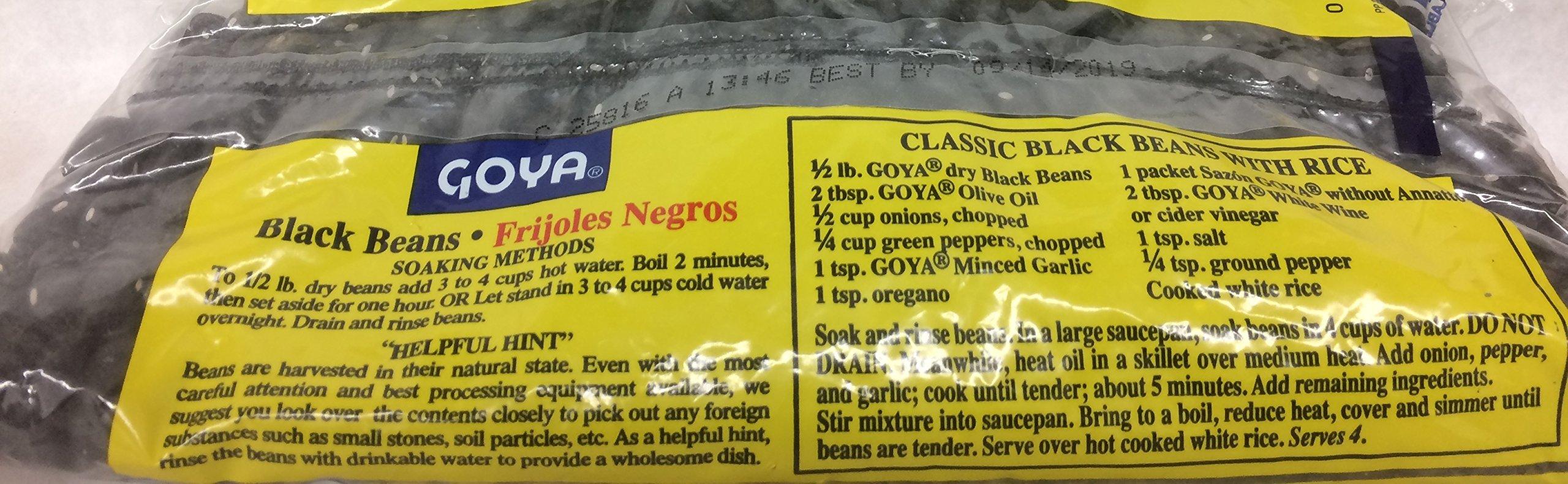 Goya Black Beans Frijoles Negros 16 Oz. Pack Of 3.