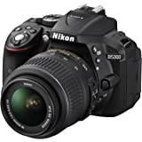 "Nikon D5300 Kit con objetivo AF-S DX 18-55mm VR - Cámara réflex digital de 24.2 Mp (pantalla 3.2"", estabilizador óptico, vídeo Full HD, GPS), color negro"