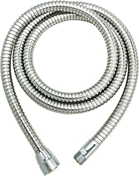 46174000 Ladylux Metalflex Hose Kitchen Faucet Hose Replacement For Grohe K4 K7 Bridge And Ladylux Cafe Pull Out Kitchen Faucet Grohe Kitchen Faucet Replacement Parts 46 174 000 By Awelife Chrome Amazon Com