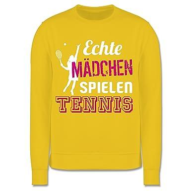 release date 6ffda de399 Sport Kind - Echte Mädchen Spielen Tennis - Kinder Pullover ...