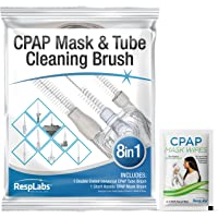 RespLabs CPAP Tube Brush. 8 in 1 System - Fits All CPAP Hose Type - Effective Cleaning, Hygiene Essentials, Optimal CPAP…