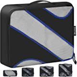BAGAIL Travel Packing Cubes Luggage Carry On Packing Organizers with YKK Zippers