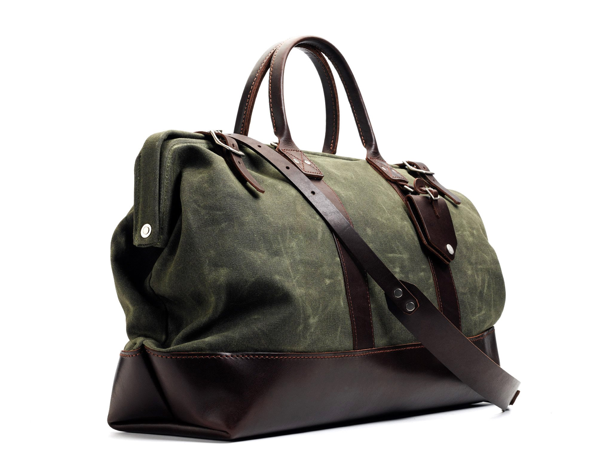 Billykirk No. 166 Medium Carryall (Olive) by Billykirk