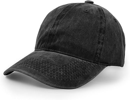 Classic Plain Adjustable Hip-Hop Baseball Caps Sun Sports Hat Unisex Snapback