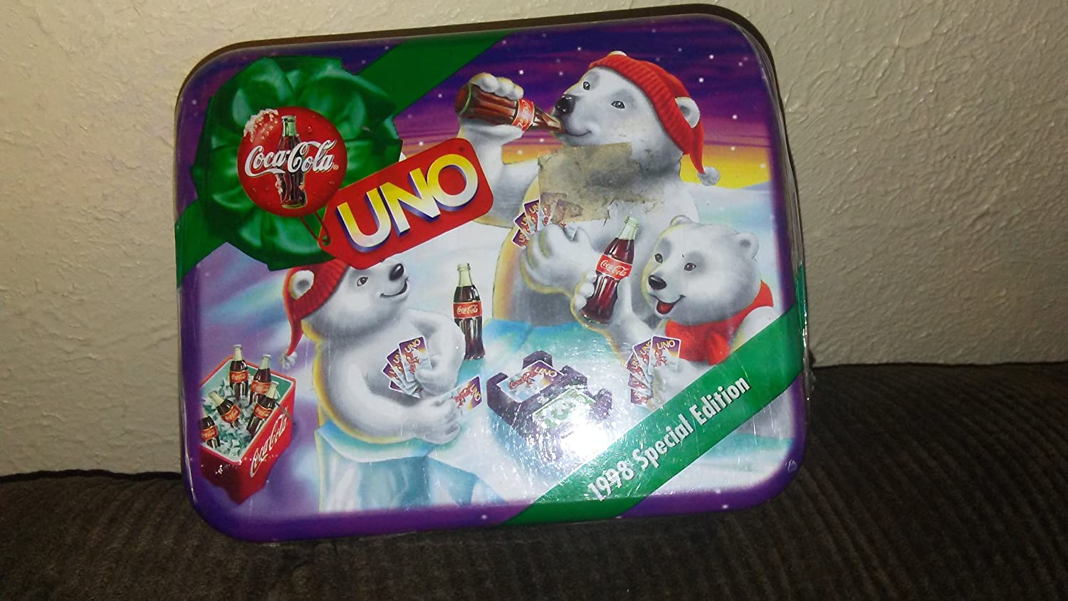 Coca-Cola UNO 1998 Collectable Special Edition