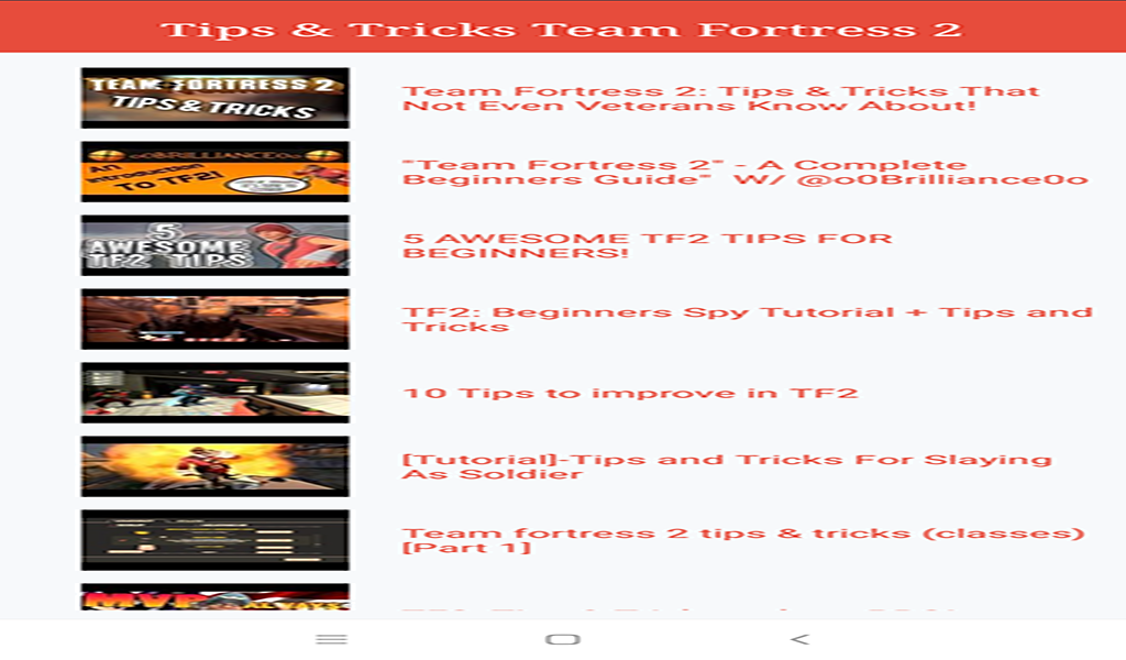 Amazon com: Team Fortress 2 Game Guide: Appstore for Android