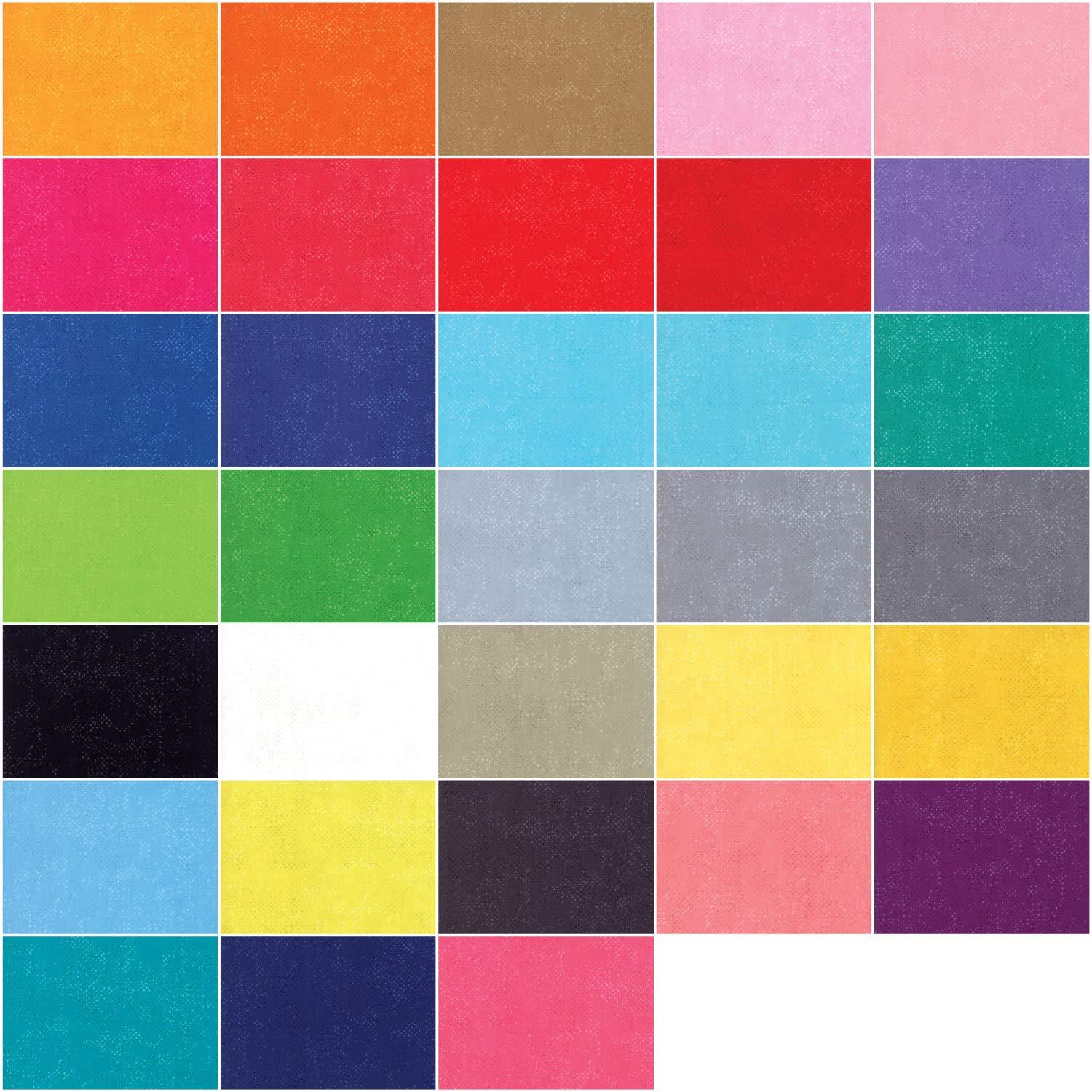 Spotted Charm Pack by Brigitte Heitland for Zen Chic; 42-5 Inch Precut Fabric Quilt Squares