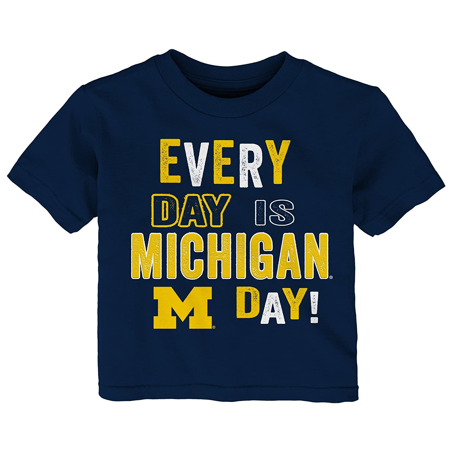 Outerstuff NCAA Michigan Wolverines Toddler Everyday Short Sleeve Tee 2T Dark Navy