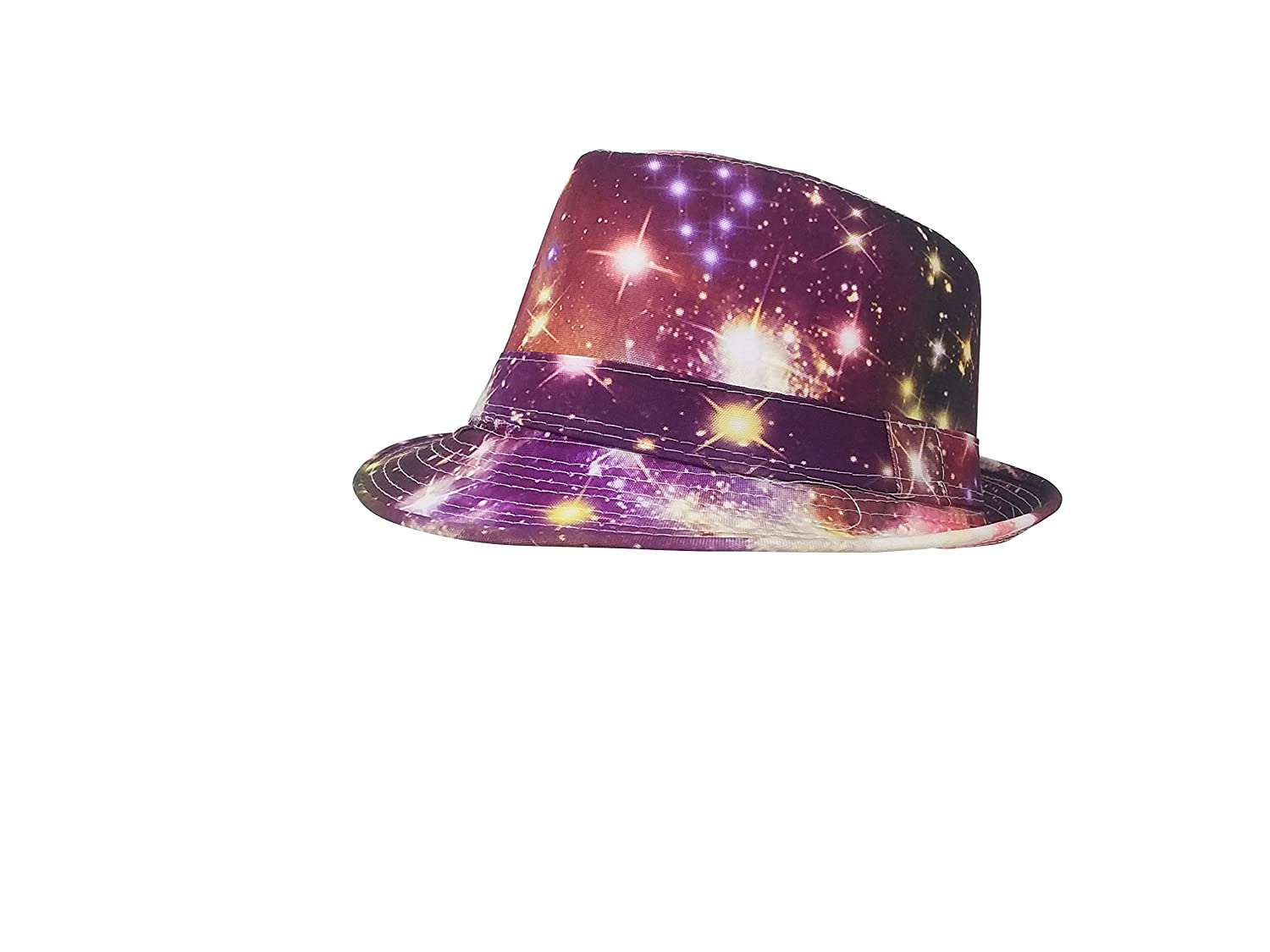 Chachlili 40 Hollywood Lights Fun Fedoras Lightweight Classic Hat Assorted Styles Wholesale Bulk LOT