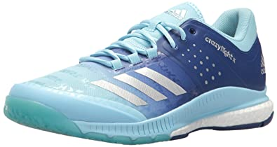 finest selection ad07c adc7e adidas Womens Shoes  Crazyflight X Volleyball Shoe - Ice BlueMetallic  SilverMystery